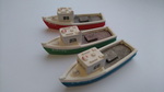 Harburn HN652 Fishing Boat green/white   N scale